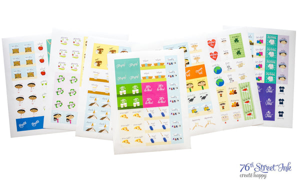 Create-a-Life Planner Sticker Set