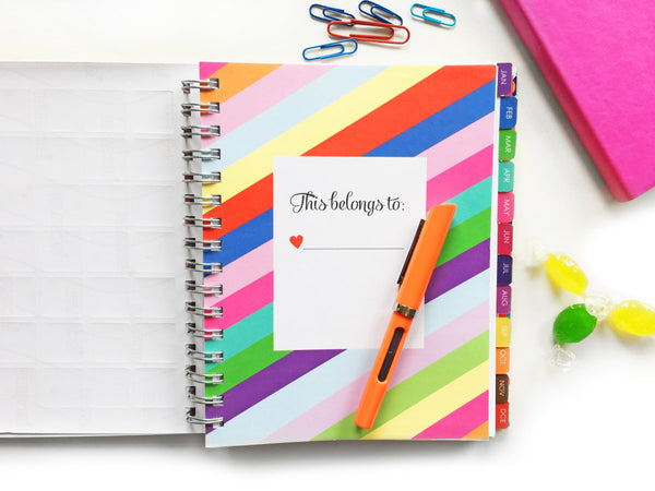 2018 Create-a-Life Planner~blooming tulips