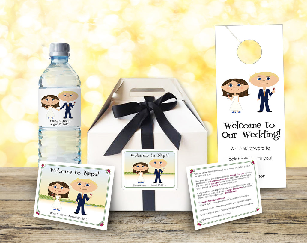 Deluxe Wedding Welcome Bag Kit