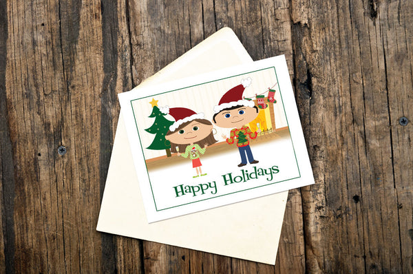 Ugly Christmas Sweater Holiday Cards