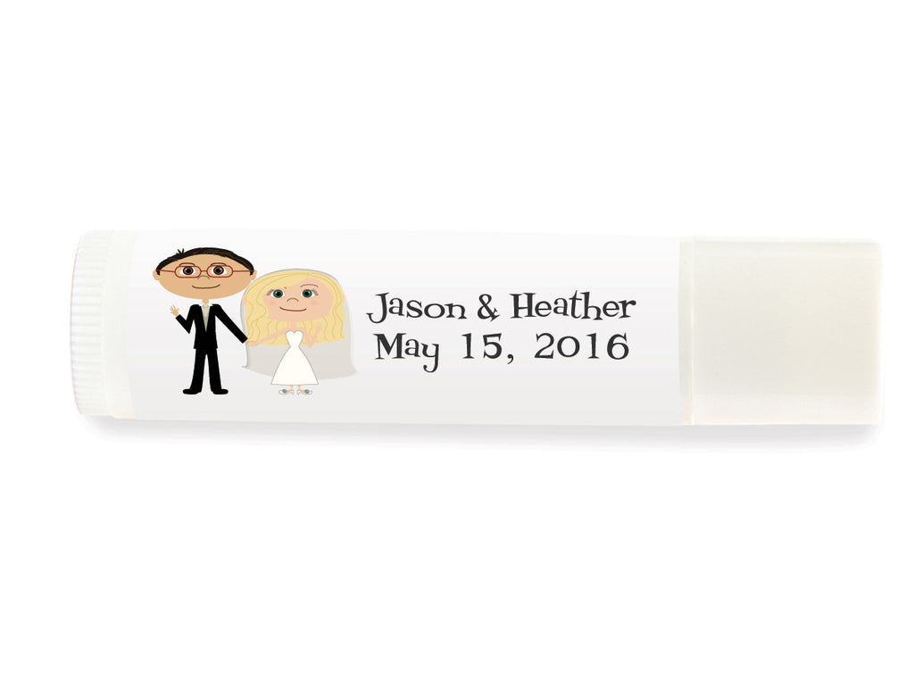 Wedding Lip Balm Labels
