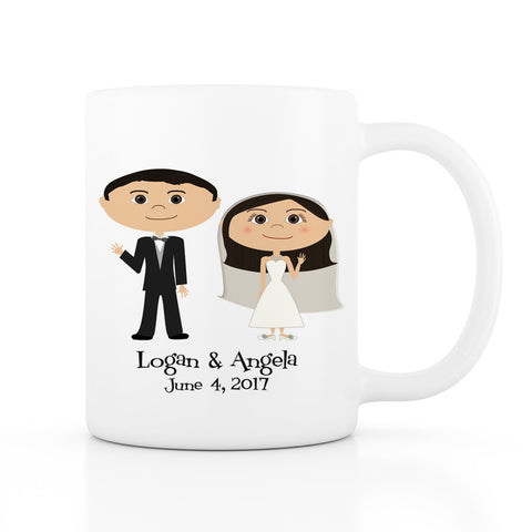 Wedding Favor Mug