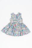 Alice in wonderland Liberty of London Jess dress and Jean top - Poisson Pompon,Dress - kids clothing