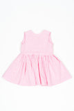 Pink stripe Donna dress - Poisson Pompon,Dress - kids clothing