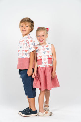 2ae1cfe3e0af Brother and Sister Matching outfits – Poisson Pompon