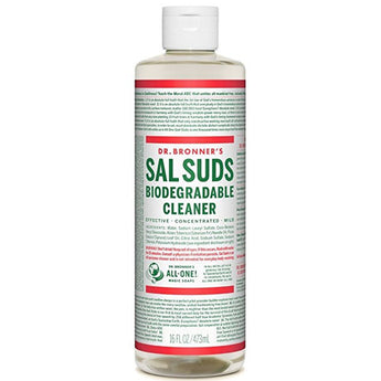 Dr. Bronner's SAL SUDS Liquid Organic Surfactant - 16 OZ