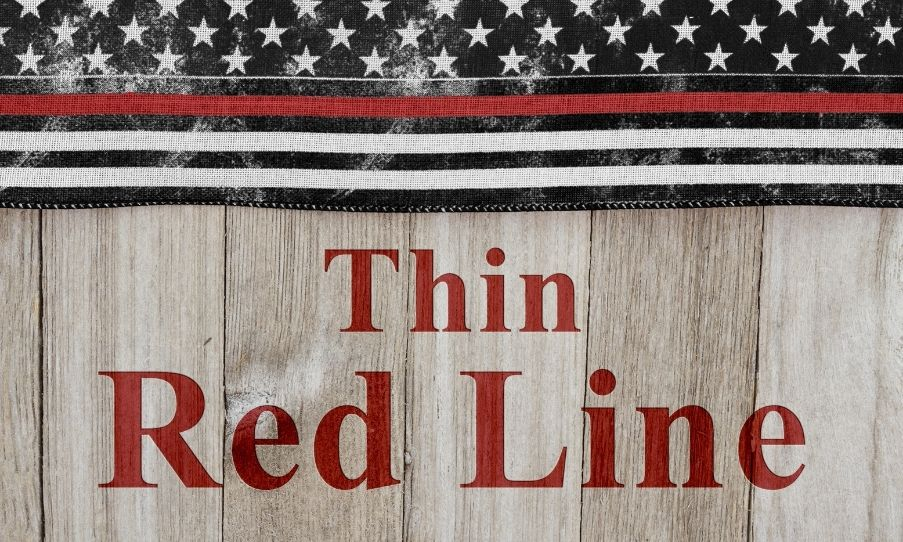 The History Behind the Thin Blue and Red Line Flags