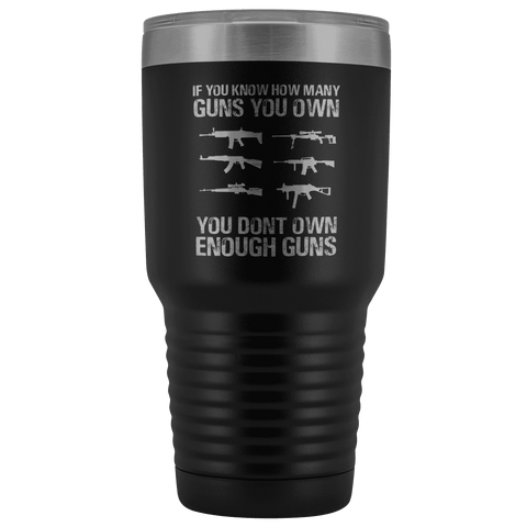 Image of If You Know How Many Guns You Own Tumbler