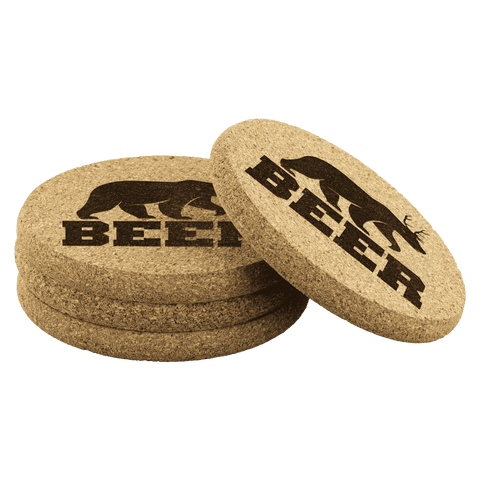 Image of Beer Coasters - Greater Half