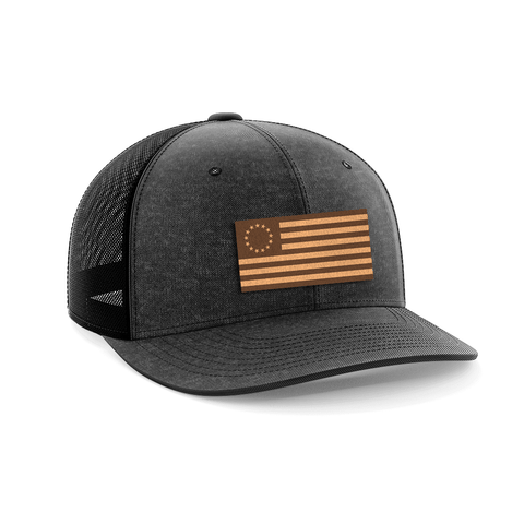 13 Colonies Leather Patch Hat