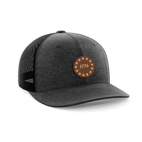 1776 Stars Leather Patch Hat