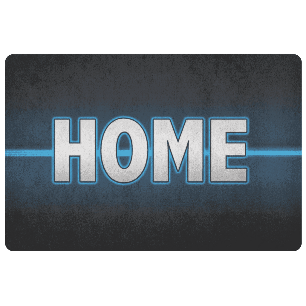 Thin Blue Line Home Doormat