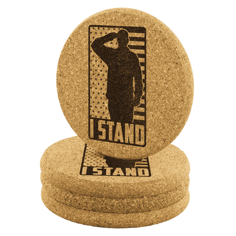 Image of I Stand Coasters