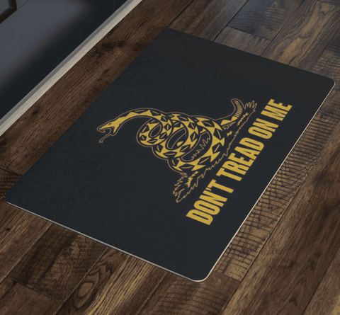 Image of Don't Tread On Me Doormat - Greater Half