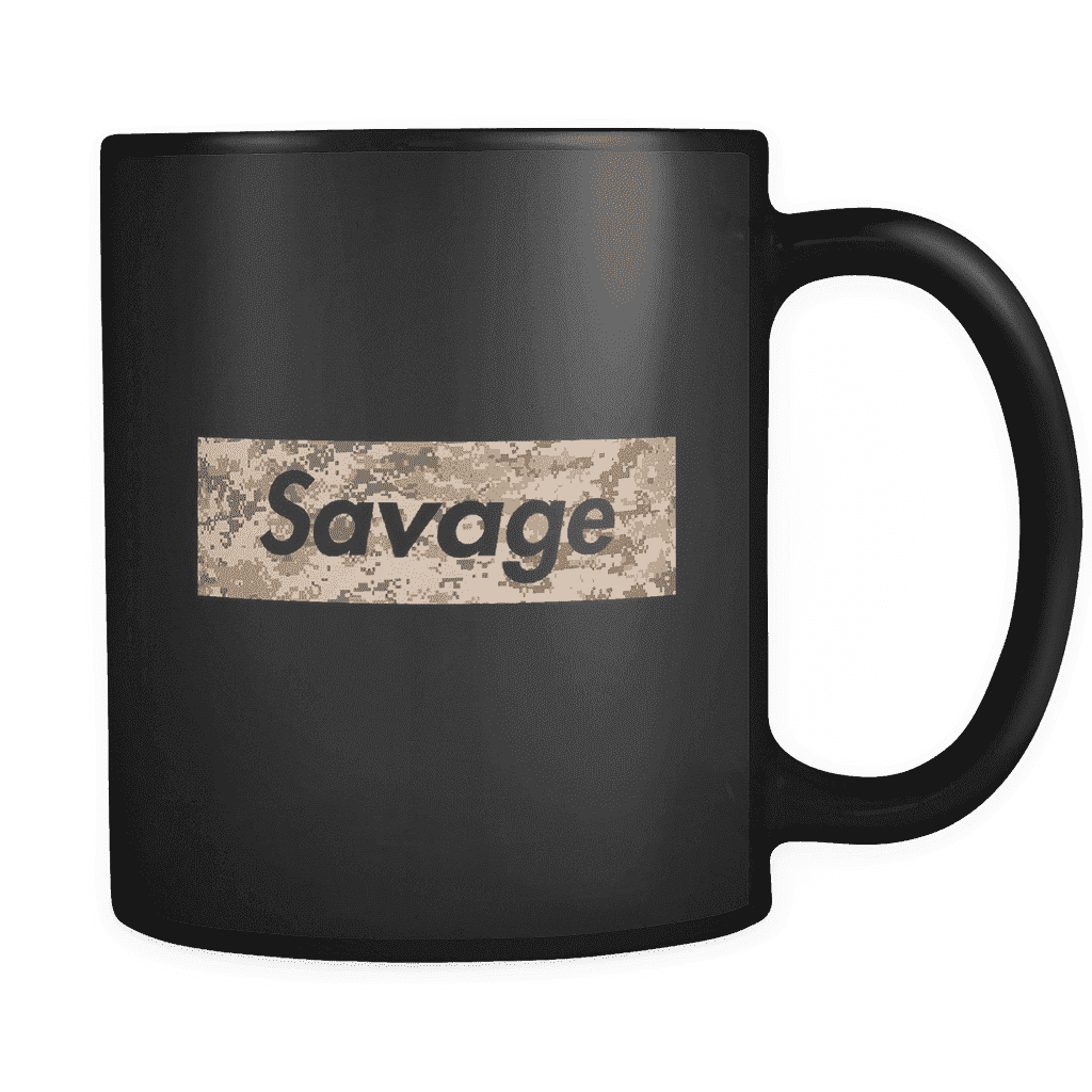 Savage Mug Drinkware teelaunch savage