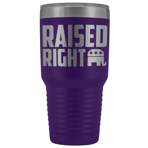Raised Right Tumbler
