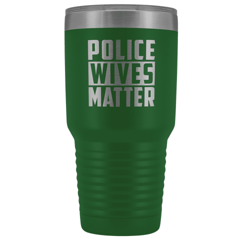Image of Police Wives Matter Tumbler