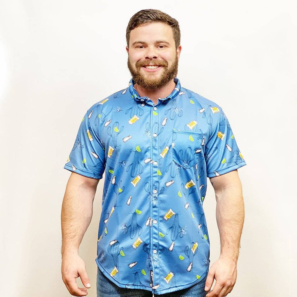 Agave Button Down - Greater Half