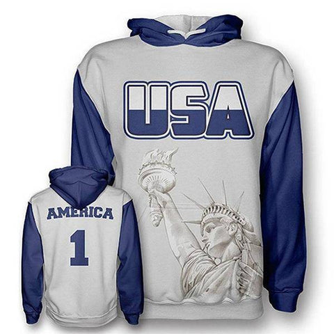 Image of American Liberty Hoodie-Greater Half