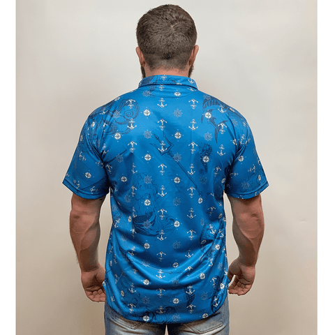 Image of Poseidon Button Down