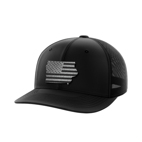 Iowa United Collection (black leather)
