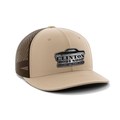 Guns Dont Kill People Clintons Do Black Patch Hat