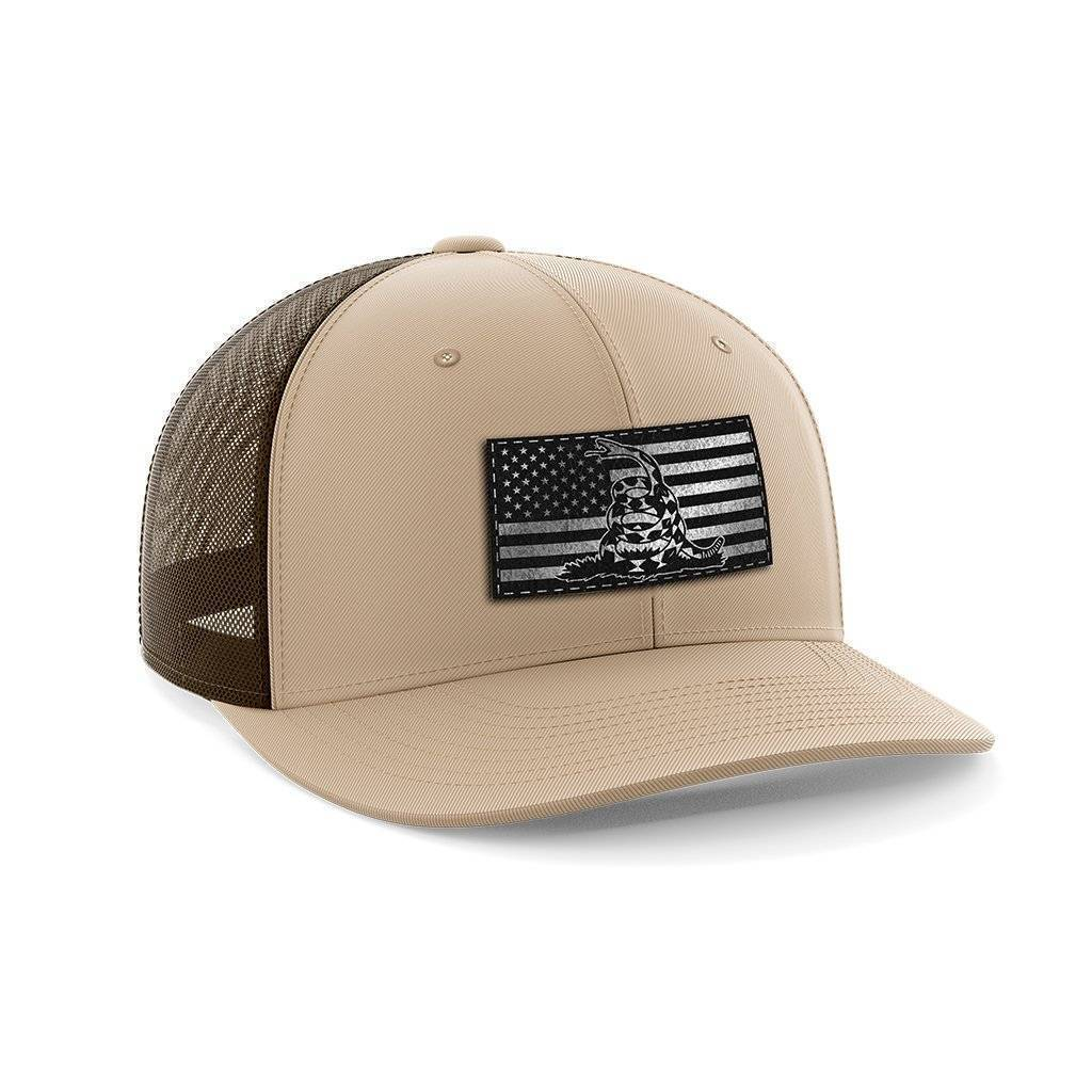 Don't Tread USA Black Patch Hat