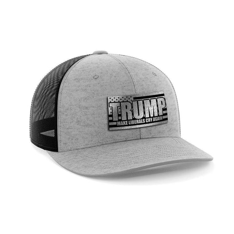 Image of Make Liberals Cry Again Black Patch Hat