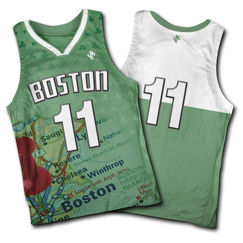 Image of The Boston Jersey jerseys Jersey Pros Small
