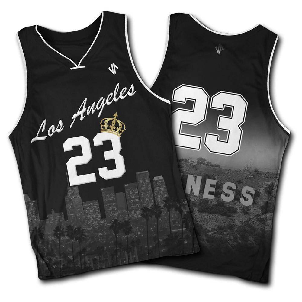 King James Hollywood Jersey jerseys Jersey Pros Small