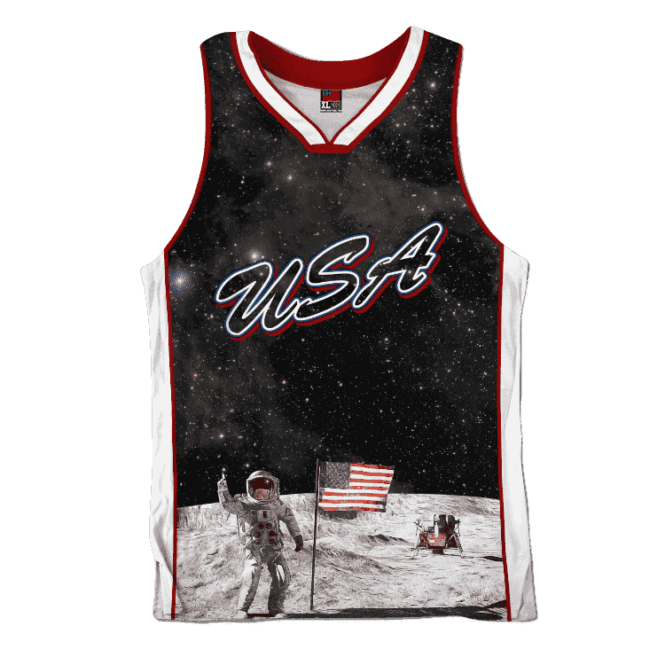 Team USA Galaxy Jersey Shirt Greater Half