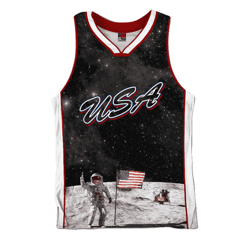 Image of Team USA Galaxy Jersey Shirt Greater Half