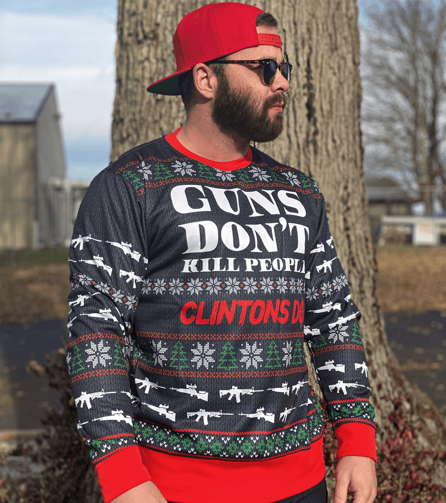 Guns Don't Kill Christmas Sweater