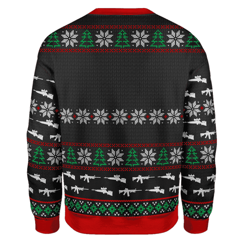 Image of Guns Don't Kill Christmas Sweater