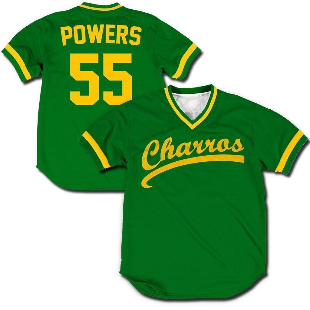 Kenny Powers Charros jerseys Greater Half Small