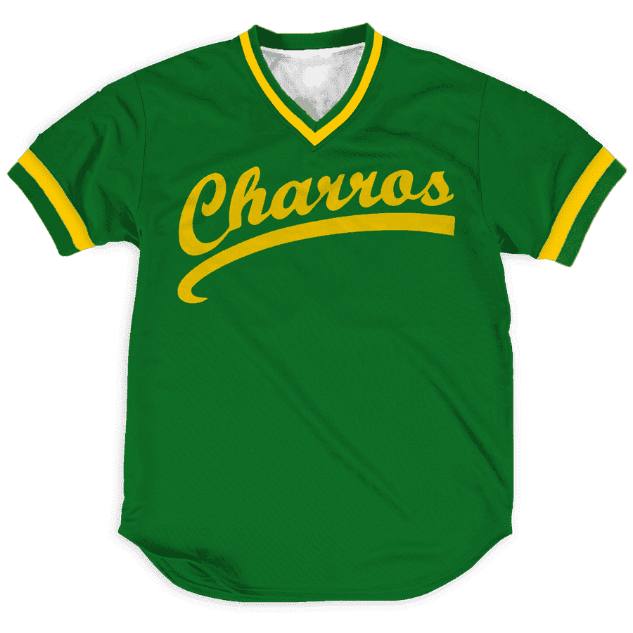 Kenny Powers Charros jerseys Greater Half