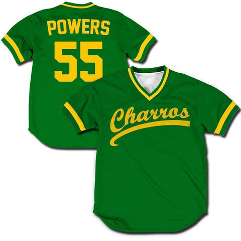 Image of Kenny Powers Charros jerseys Greater Half Small