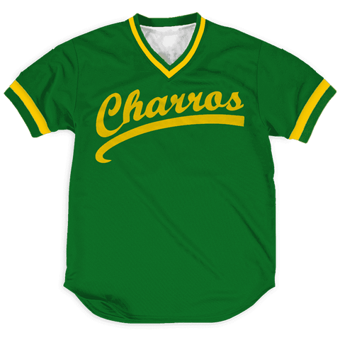 Image of Kenny Powers Charros jerseys Greater Half
