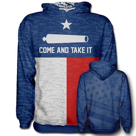 Come and Take It Hoodie-Greater Half
