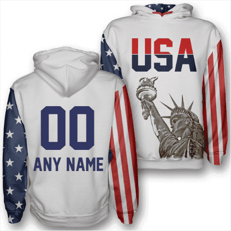 Image of Custom America #1 Hoodie - Greater Half