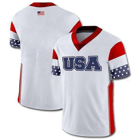 Image of Custom USA Football Jersey