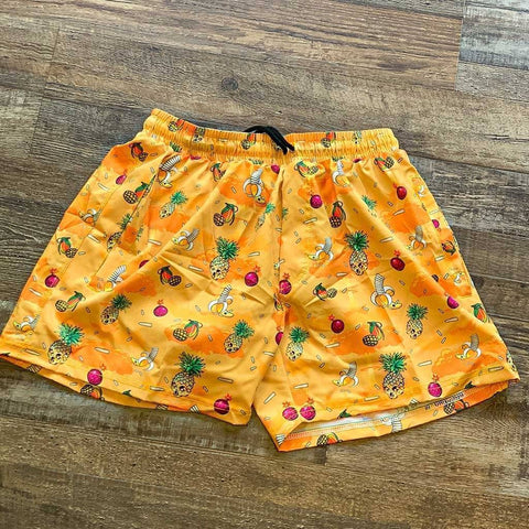 Fruit War Swim Trunks