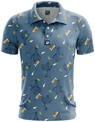Image of Agave Golf Polo - Greater Half