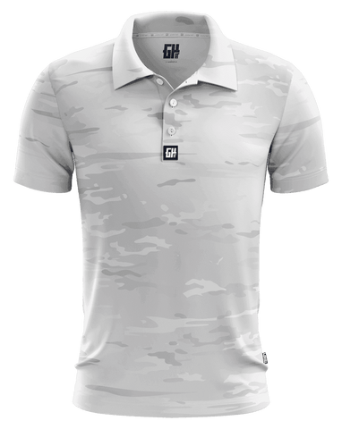 Image of Arctic Camo Golf Polo - Greater Half