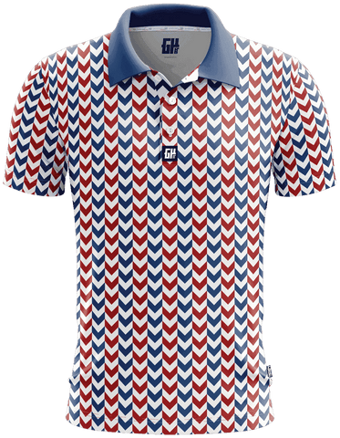 Liberty Chevron Golf Polo