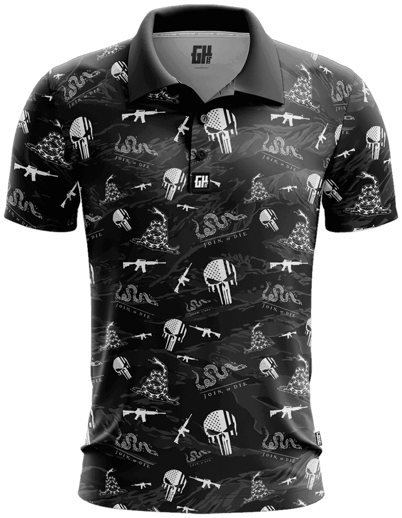 Don't Tread On Me Golf Polo - Greater Half
