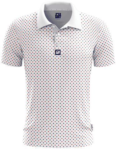 Image of Connect The Dots Golf Polo - Greater Half