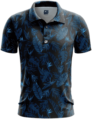 Image of Flower Golf Polo - Greater Half