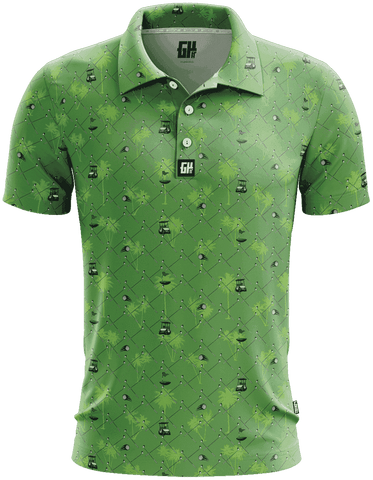 Cart Path Mostly Golf Polo - Greater Half