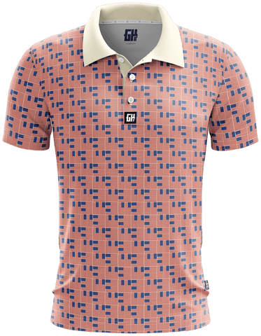 Image of Woven Freedom Golf Polo